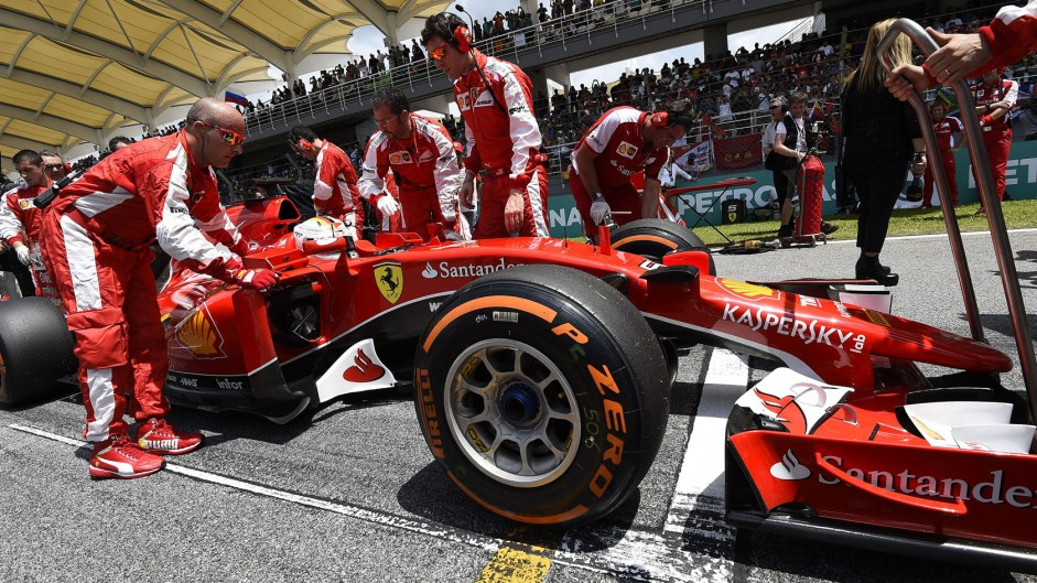 Emphatic Driver of the Weekend win for Vettel