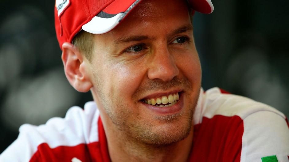Vettel: Ferrari were quicker than Mercedes today