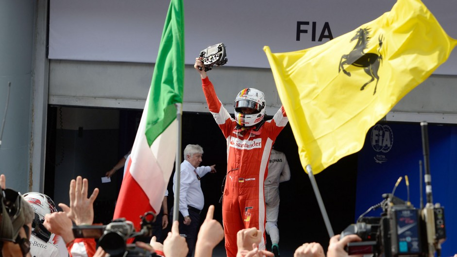 Vettel and Ferrari rediscover their winning ways
