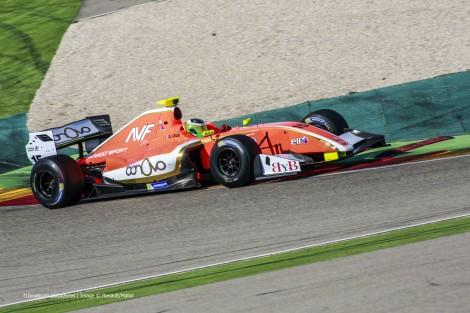 Alfonso Celis AVF Motorland Aragon Formula Renault 3.5 testing 2015