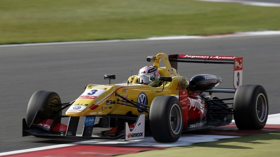 Antonio Giovinazzi European F3 Silverstone 2015