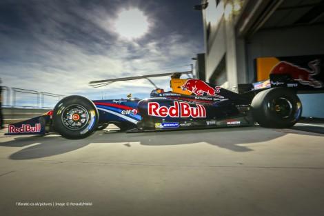 Dean Stoneman DAMS Motorland Aragon Formula Renault 3.5 testing 2015