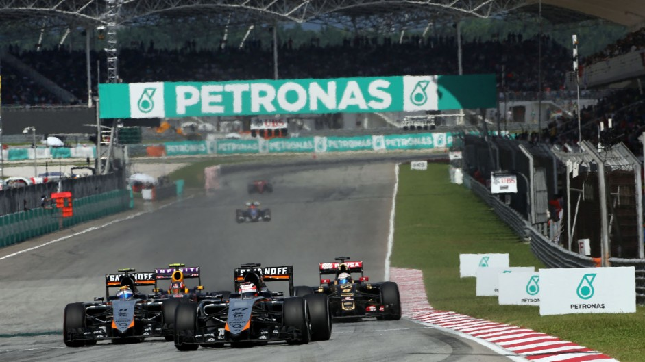 Perez apologised for Sepang collision – Grosjean