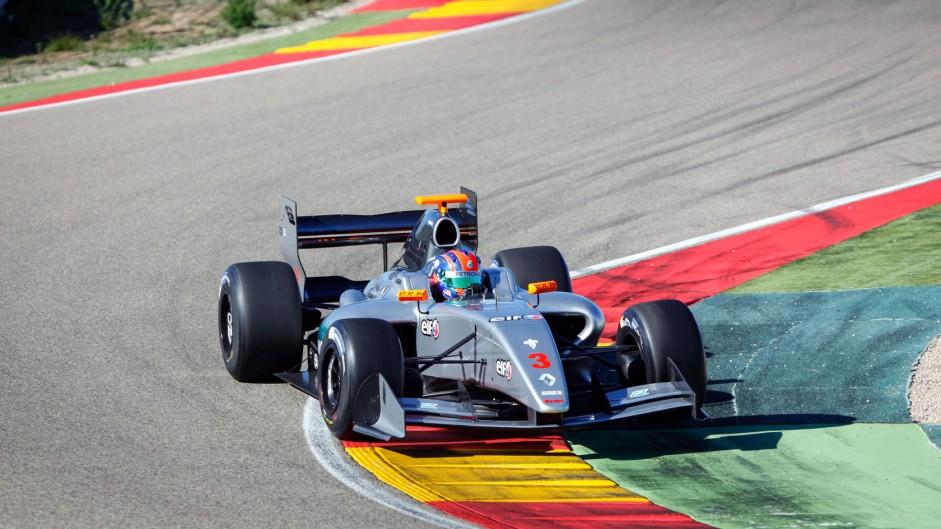 Jazeman Jaafar, Fortec, Motorland Aragon, Formula Renault 3.5 testing, 2015