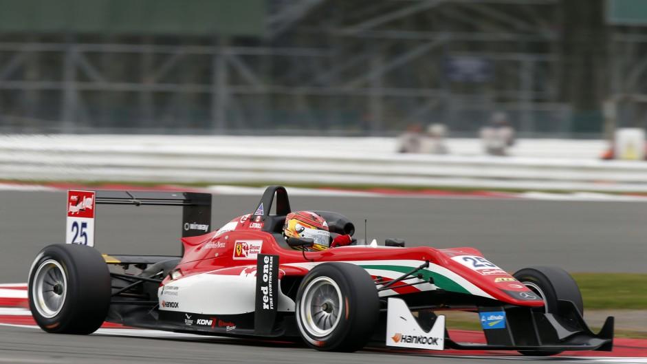 Lance Stroll Prema European F3 Silverstone 2015