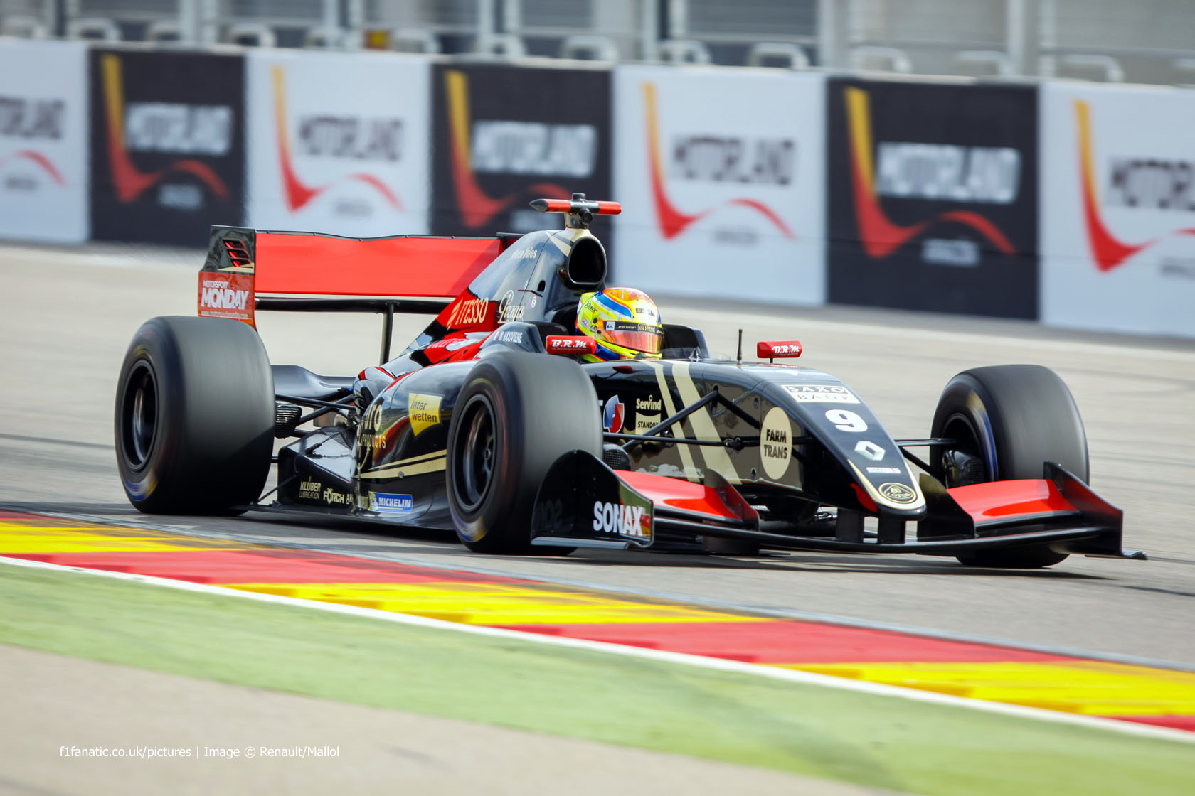 Mathieu Vaxiviere Lotus Motorland Aragon Formula Renault 3.5 testing 2015