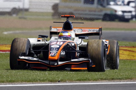 Mike Conway Silverstone 2008