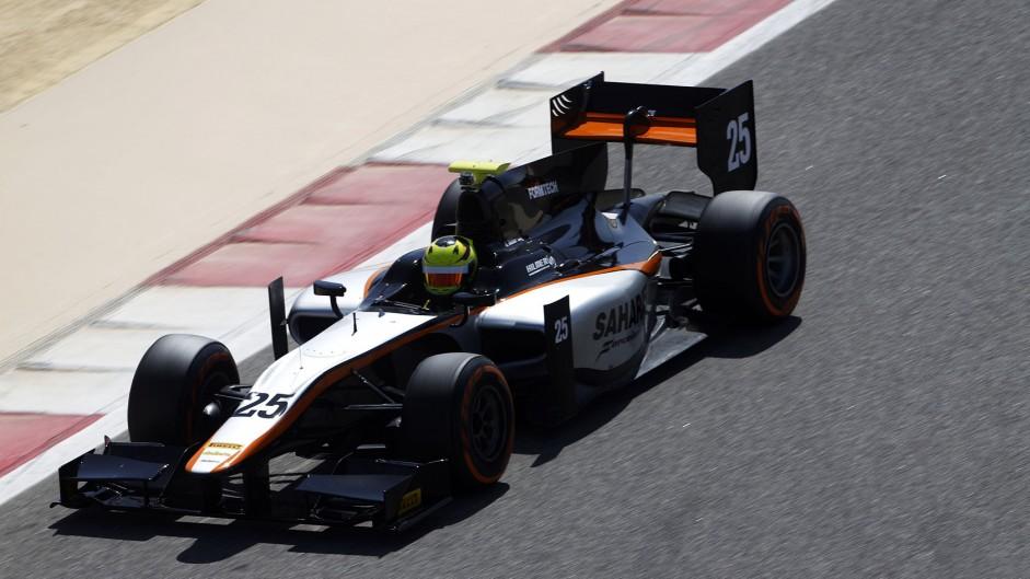 Nigel Melker, Hilmer, GP2 testing, Bahrain, 2015