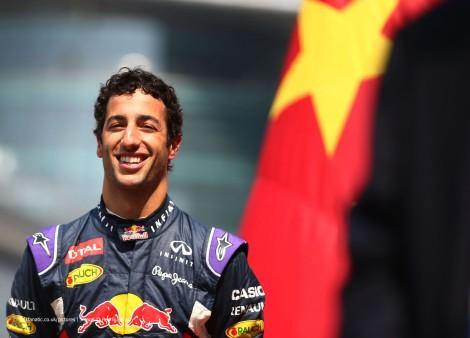 Daniel Ricciardo, Red Bull, Shanghai International Circuit, 2015