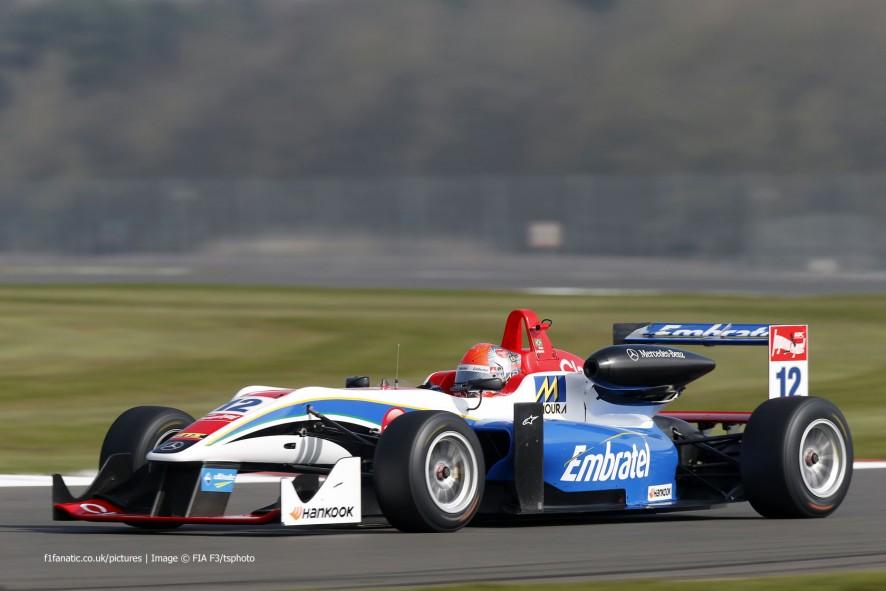 Pietro Fittipaldi Fortec European F3 Silverstone 2015