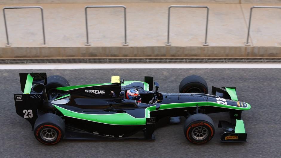 Richie Stanaway, Status, GP2 testing, Bahrain, 2015