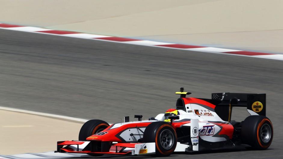 Sergio Canamasas, MP, GP2 testing, Bahrain, 2015