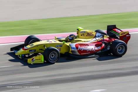Tom Dillmann Carlin Motorland Aragon Formula Renault 3.5 testing 2015