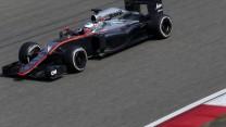 Fernando Alonso, McLaren, Shanghai International Circuit, 2015