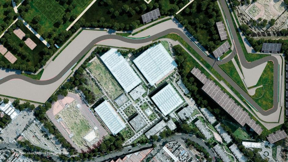 Autodromo hermanos rodriguez aerial map 2015 f1 fanatic for Puerta 2 autodromo hermanos rodriguez