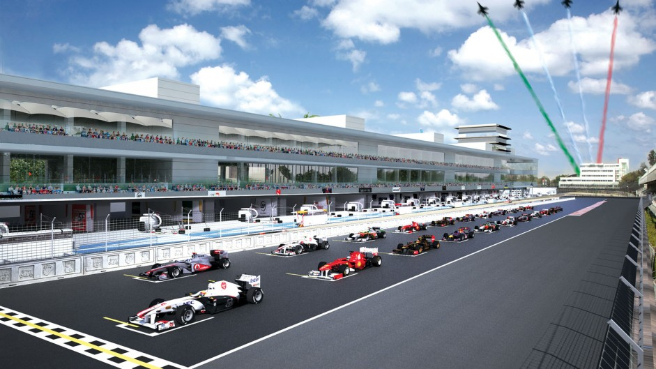 New images reveal how 2015 Mexican GP will look