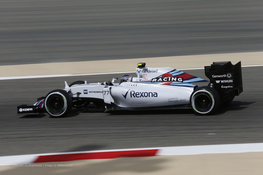 Valtteri Bottas, Williams, Bahrain International Circuit, 2015