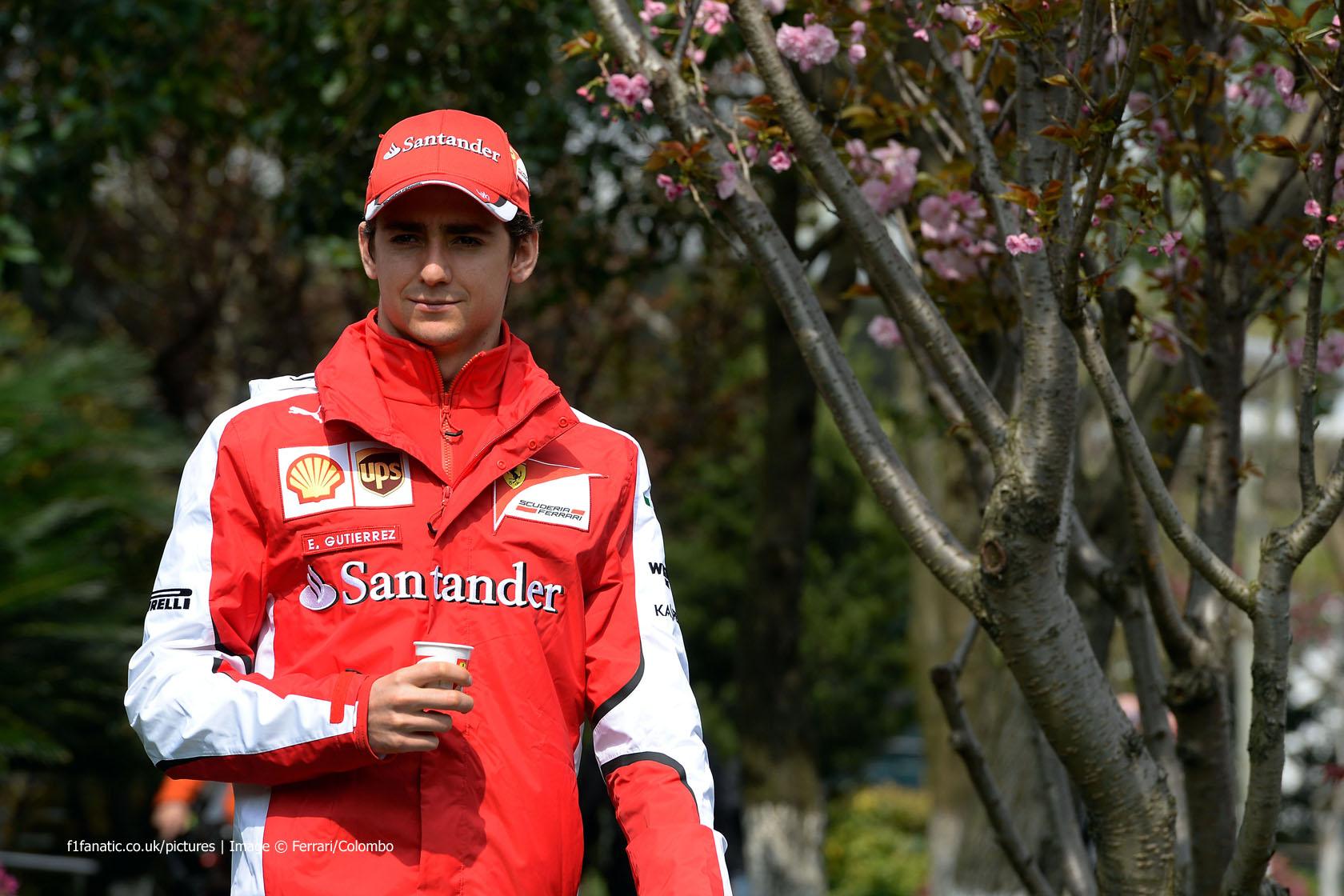 Esteban Gutierrez, Ferrari, Shanghai International Circuit, 2015