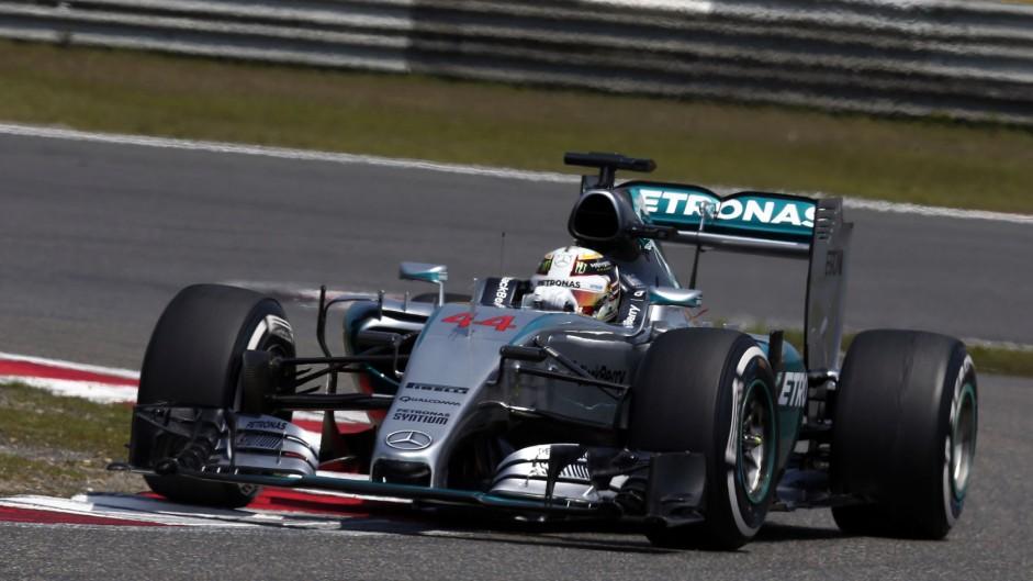 2015 Chinese Grand Prix result