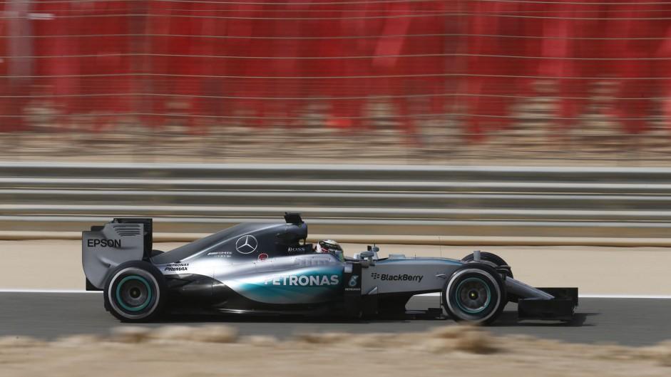 Hamilton quickest, but Vettel is closer than Rosberg