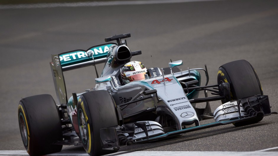 Hamilton was quickest in China – when he needed to be