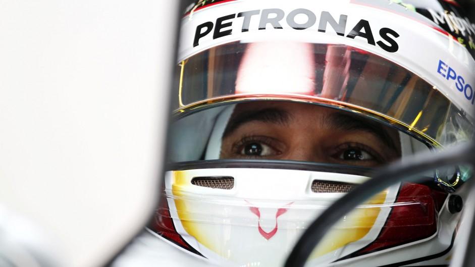 'I do my talking on the track' – Hamilton