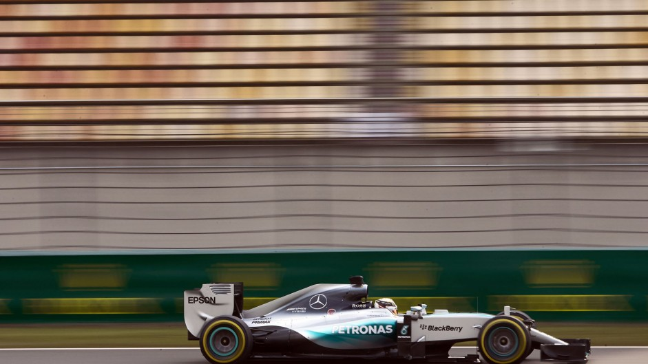 2015 Chinese Grand Prix grid