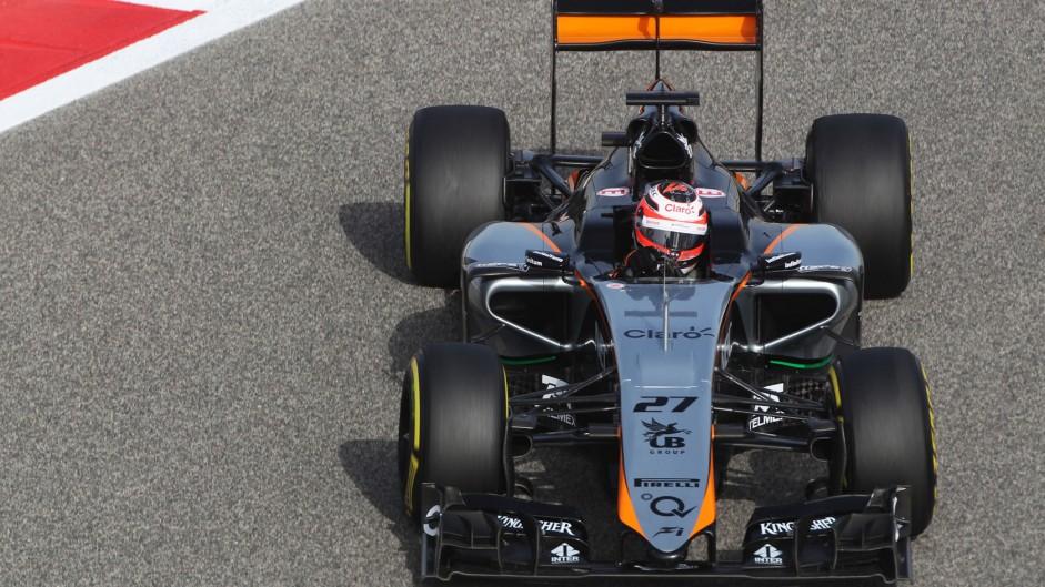Nico Hulkenberg, Force India, Bahrain International Circuit, 2015
