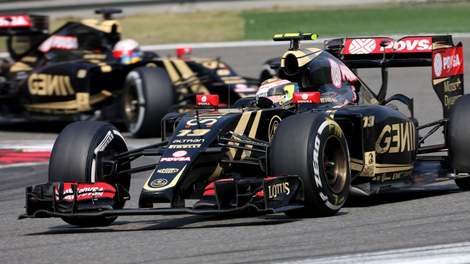 Pastor Maldonado, Lotus, Shanghai International Circuit, 2015