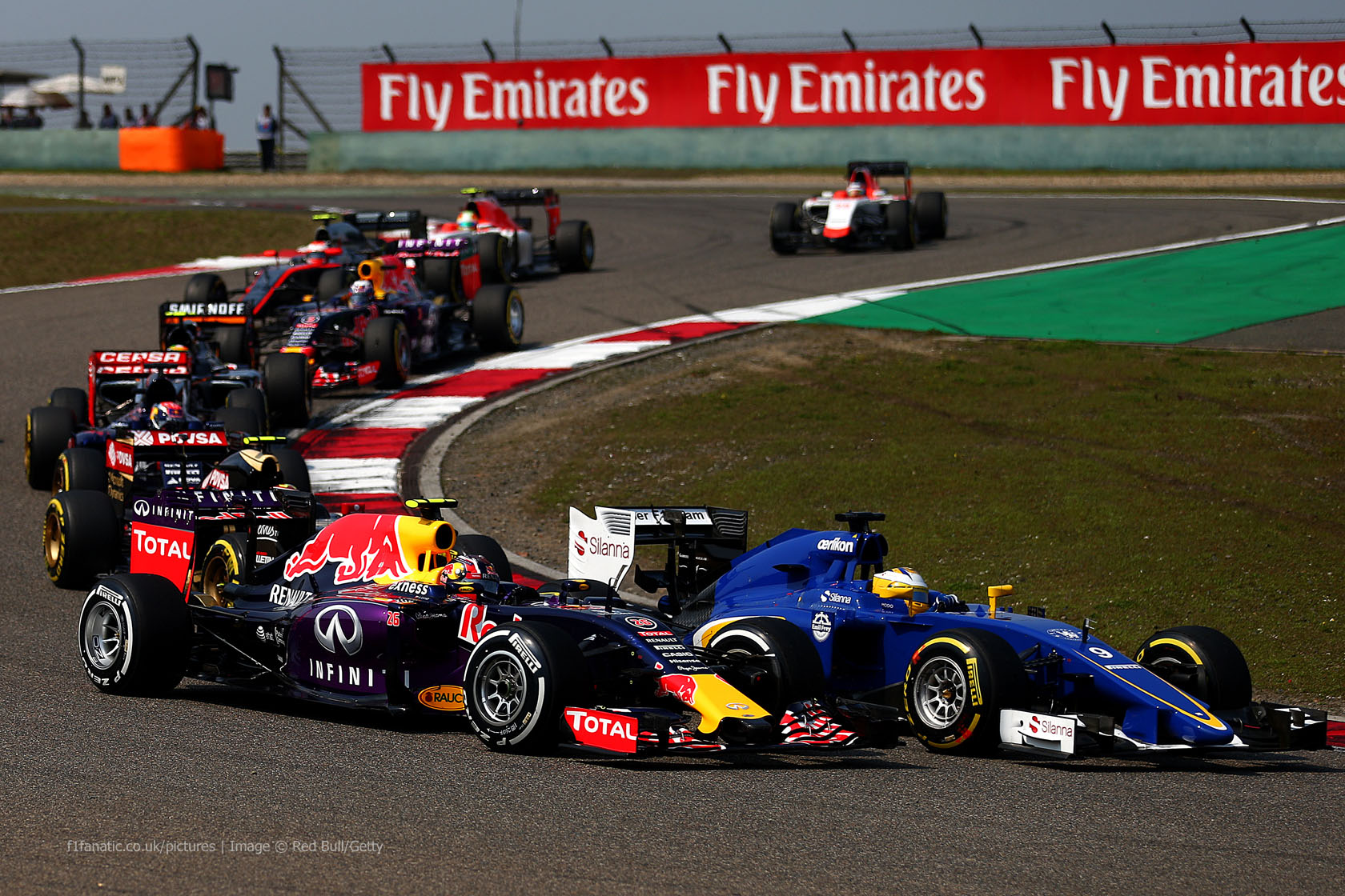 Daniil Kvyat, Red Bull, Shanghai International Circuit, 2015