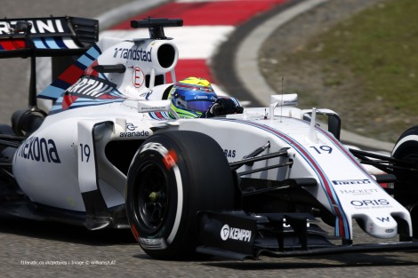 Felipe Massa, Williams, Shanghai International Circuit, 2015