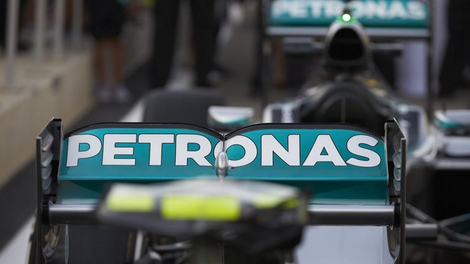 Rosberg quickest in FP2 as Vettel, Perez collide