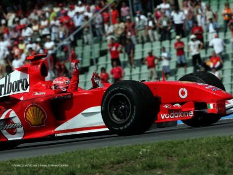 Michael Schumacher, Ferrari, Hockenheimring, 2004