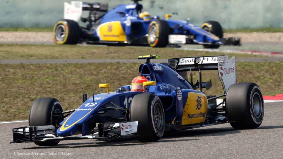 Sauber make minor recovery after 2014 nadir