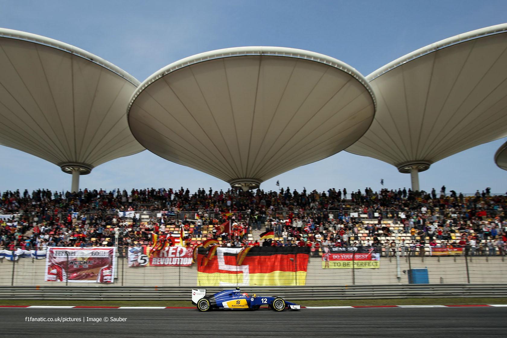 Felipe Nasr, Sauber, Shanghai International Circuit, 2015