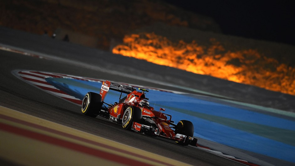 Mixed emotions for Raikkonen on podium return