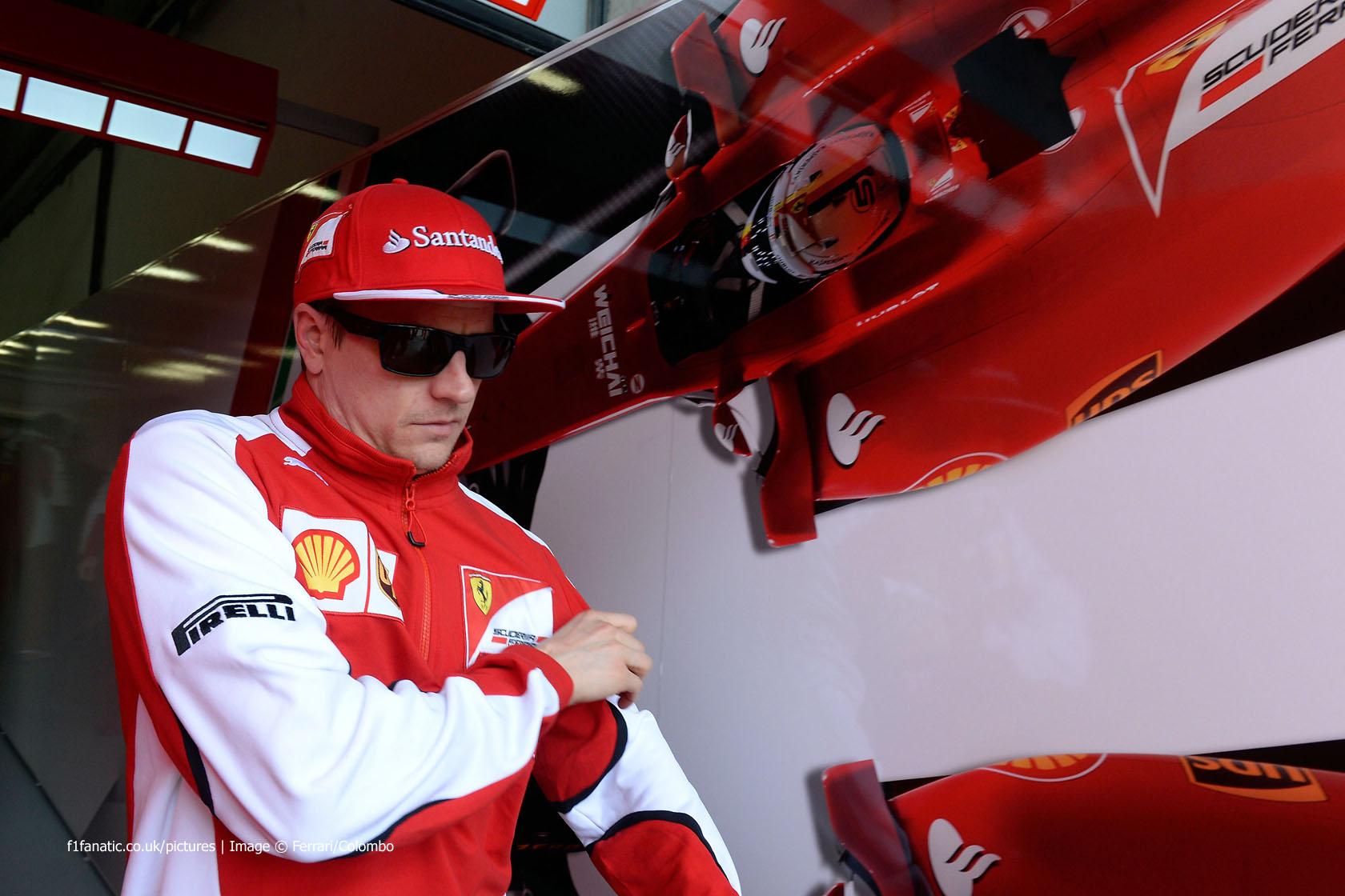 Kimi Raikkonen, Ferrari, Shanghai International Circuit, 2015