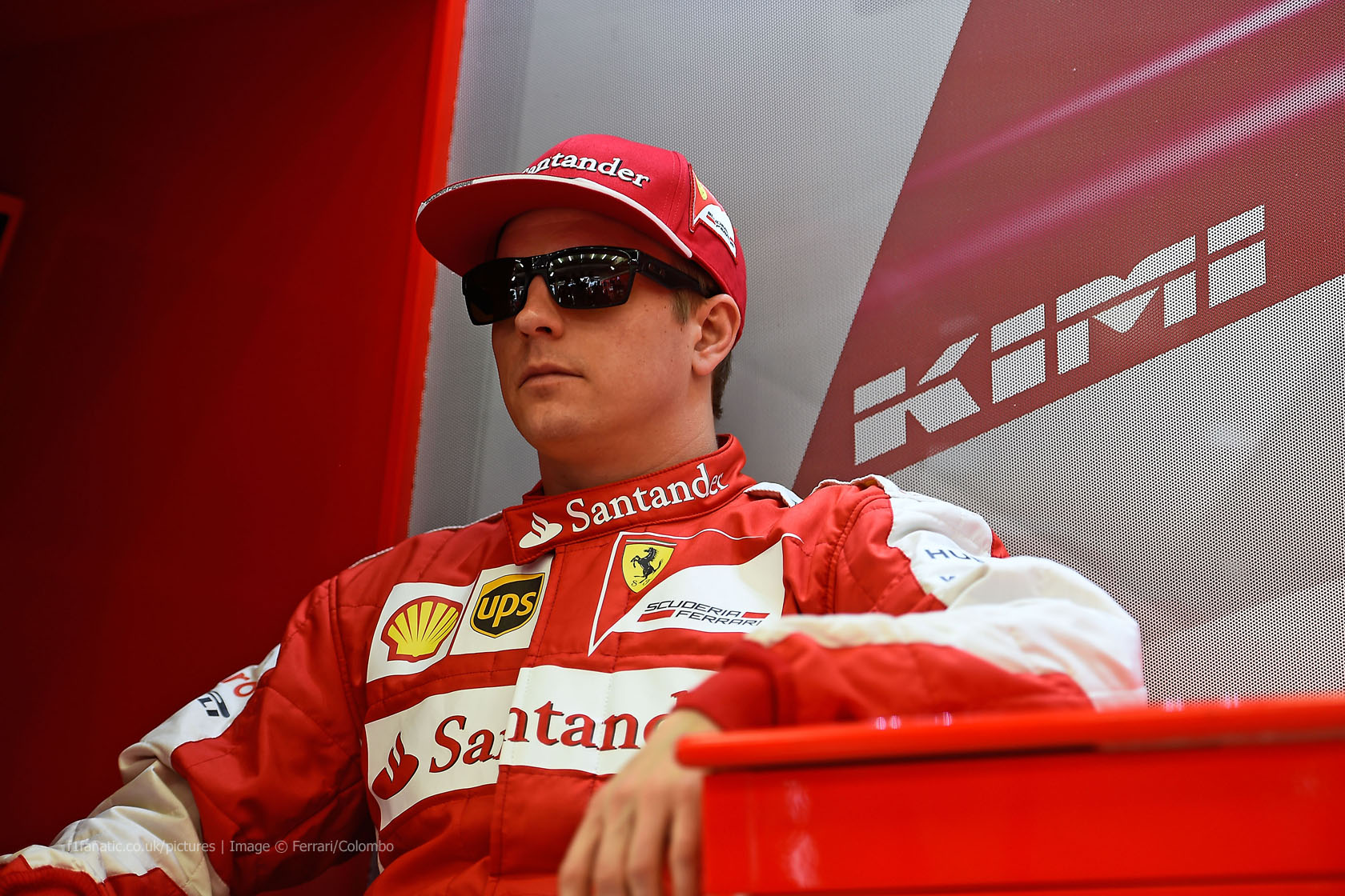 Kimi Raikkonen, Ferrari, Bahrain International Circuit, 2015