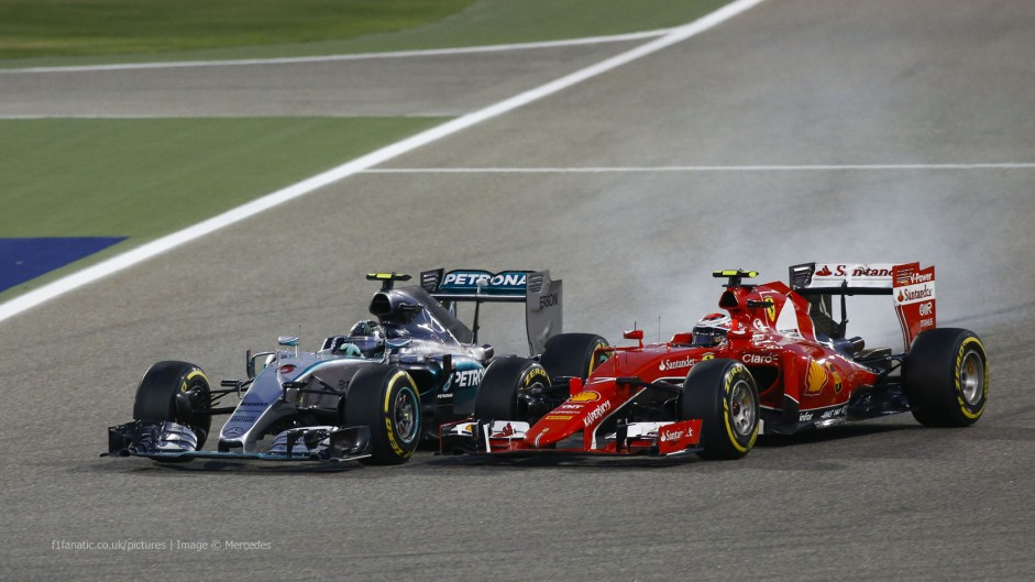 F1 sees 20% less overtaking with 9% smaller field in 2015