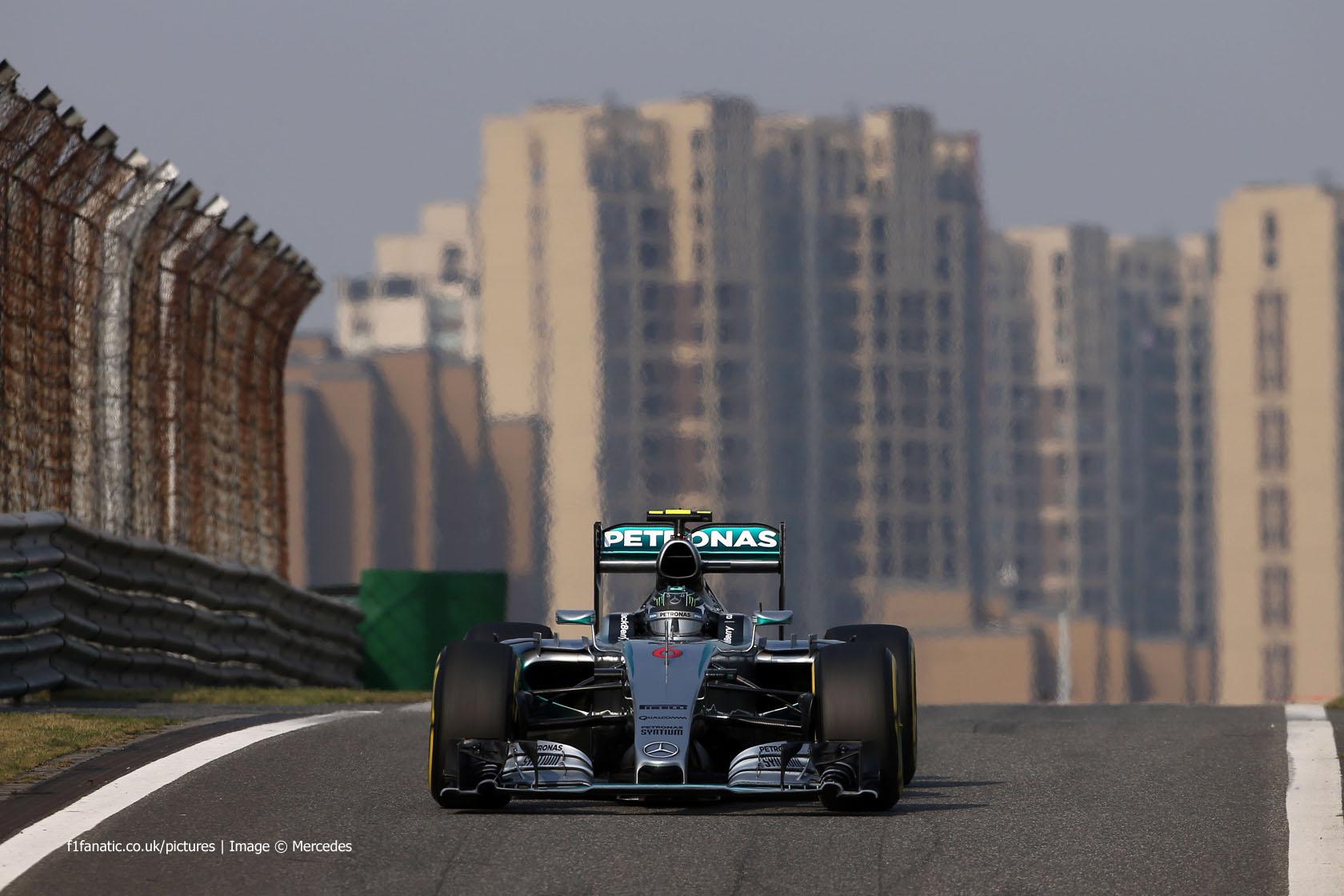 Nico Rosberg, Mercedes, Shanghai International Circuit, 2015