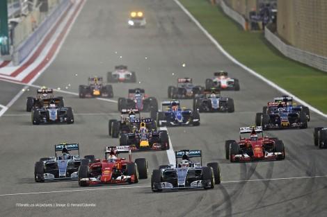 Start, Bahrain International Circuit, 2015