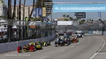 Start, Formula E, Long Beach, 2015