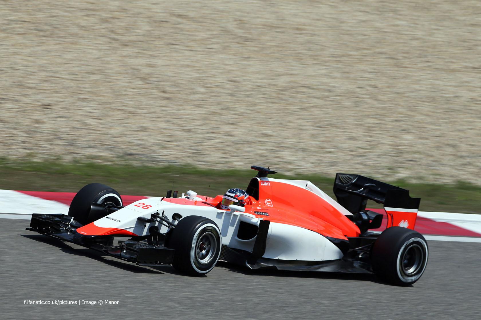 Will Stevens, Manor, Shanghai International Circuit, 2015