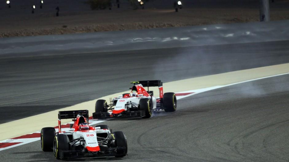 Will Stevens, Manor, Bahrain International Circuit, 2015