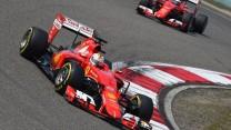 Sebastian Vettel, Ferrari, Shanghai International Circuit, 2015