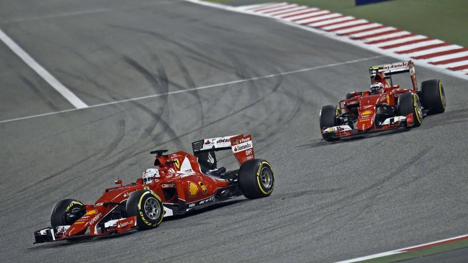 Vettel expects equal treatment for Raikkonen