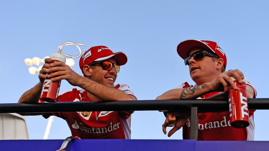 Caption Competition 83: Raikkonen and Vettel