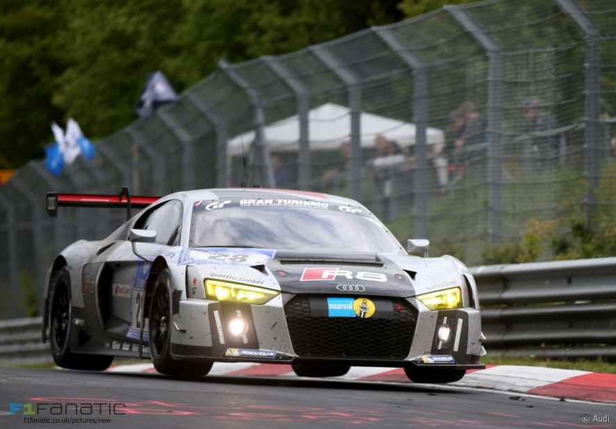 Audi R8 LMS, Nurburgring Nordschleife, 2015