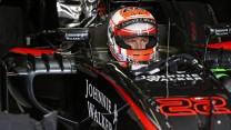 Jenson Button, McLaren, Monte-Carlo, 2015