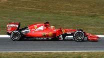 Esteban Gutierrez, Ferrari, Circuit de Catalunya testing, 2015